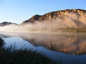Orange River Chalet Views