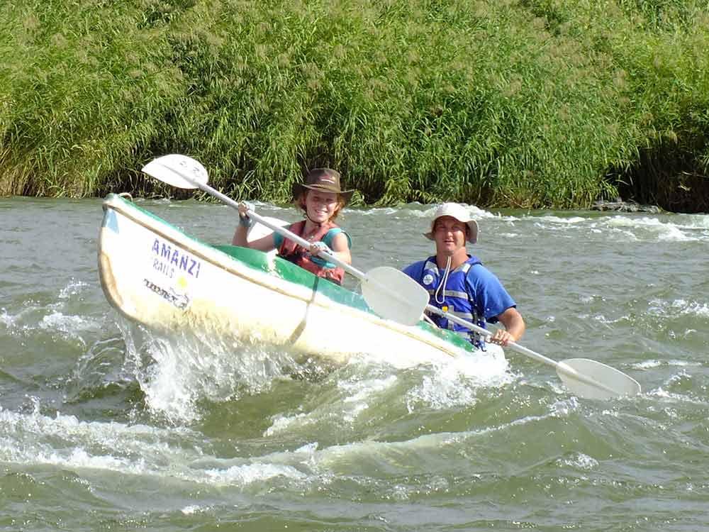 Fun in the rapids