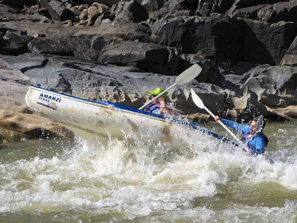 Tough rapids!